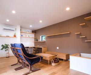 コストを抑えながらも、自然の光、熱、風を活かした夏涼しく、冬暖かな住宅。ヤスナグデザインホーム株式会社のbe-plus。