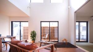 パッシブデザイン、be-plusは行橋、小倉にお住まいの方におすすめ。開放的な居住空間のエコな家。