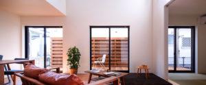 敷地や家族構成に配慮した総2階のプラン。光、熱、風を利用した開放感のある家。行橋、小倉、苅田のパッシブデザインは、ヤスナグデザインホームにお任せ。