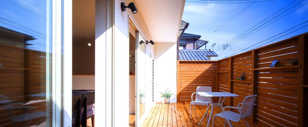 一方向に広く開放。広がる眺望を活かした開放感のある家。行橋、苅田の平屋におすすめのヤスナグデザインホーム。