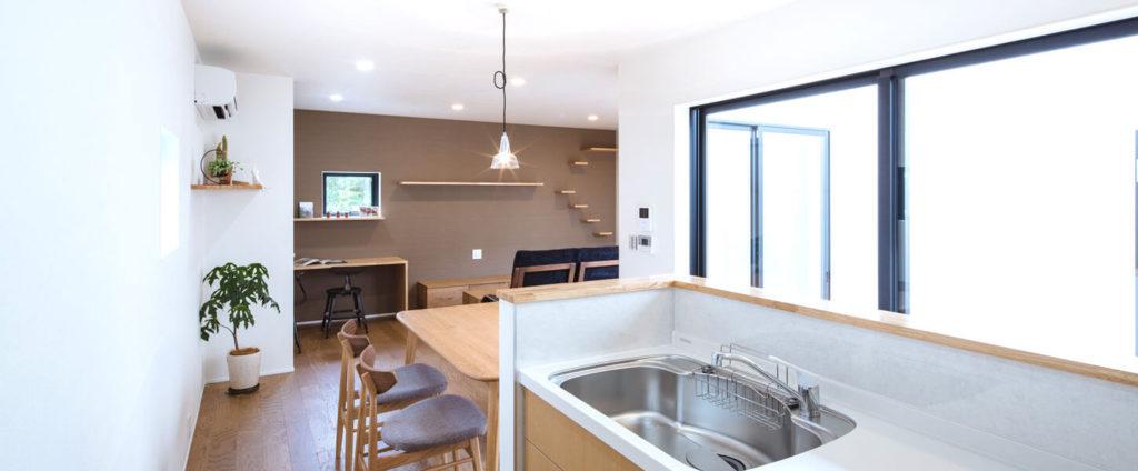 W断熱とパッシブデザインで一年中快適な室内温度を実現。省エネ住宅、be-plusのパッシブデザイン。